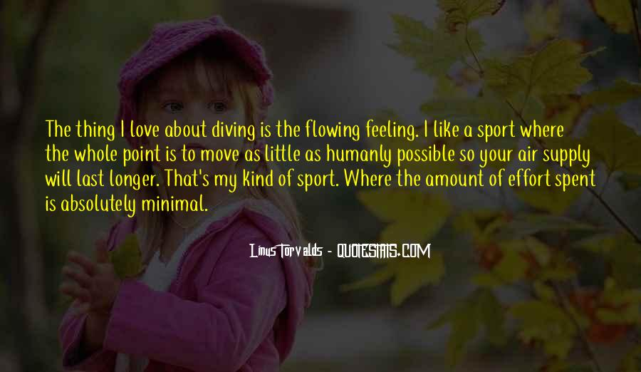 Love Is The Feeling Quotes #33208