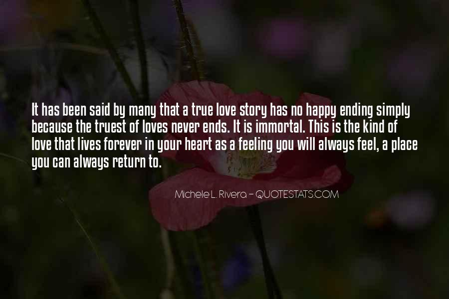 Love Is The Feeling Quotes #72769