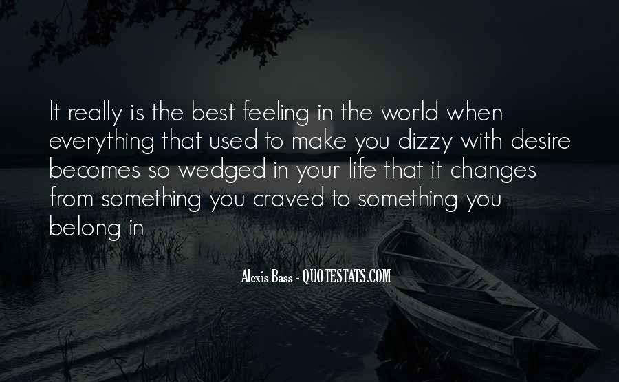 Love Is The Feeling Quotes #85961