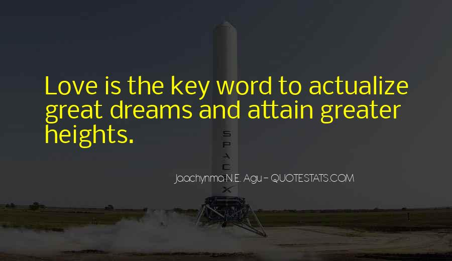 Love Is The Key Quotes #1114859