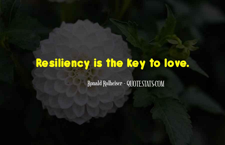 Love Is The Key Quotes #1157025