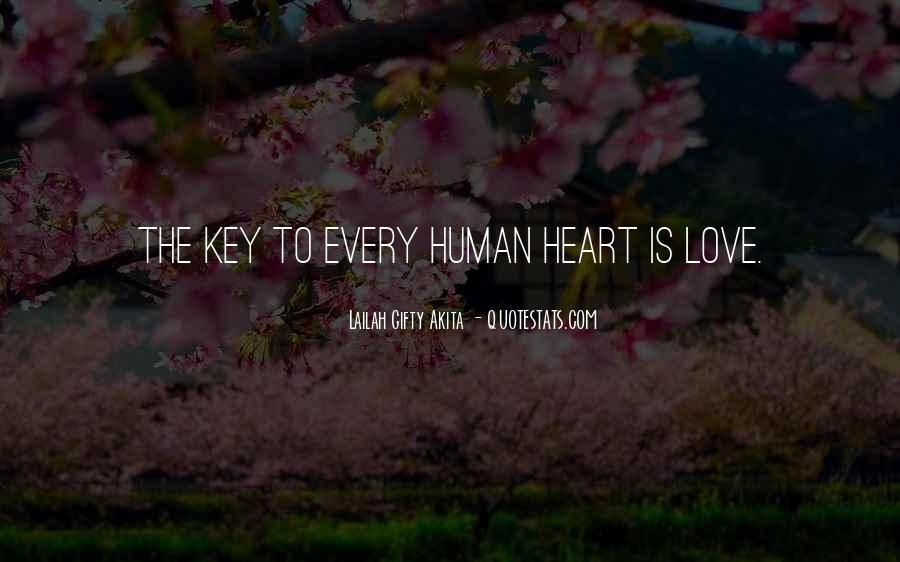 Love Is The Key Quotes #277666