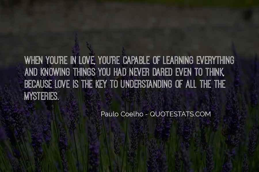 Love Is The Key Quotes #431484