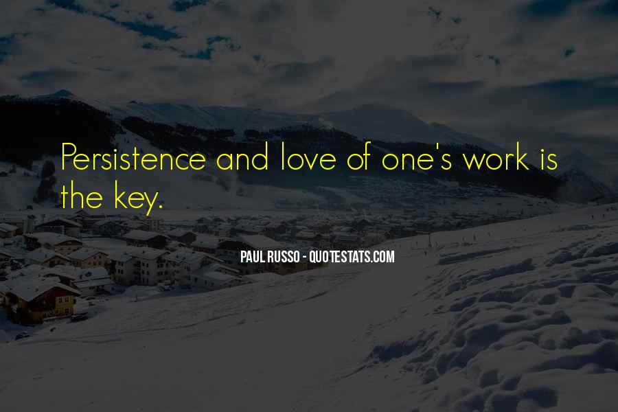 Love Is The Key Quotes #453325