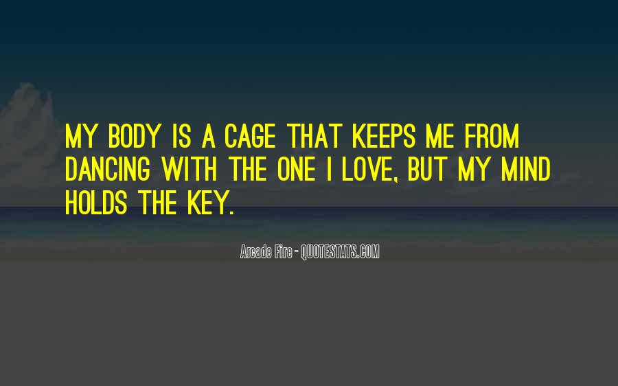 Love Is The Key Quotes #599775