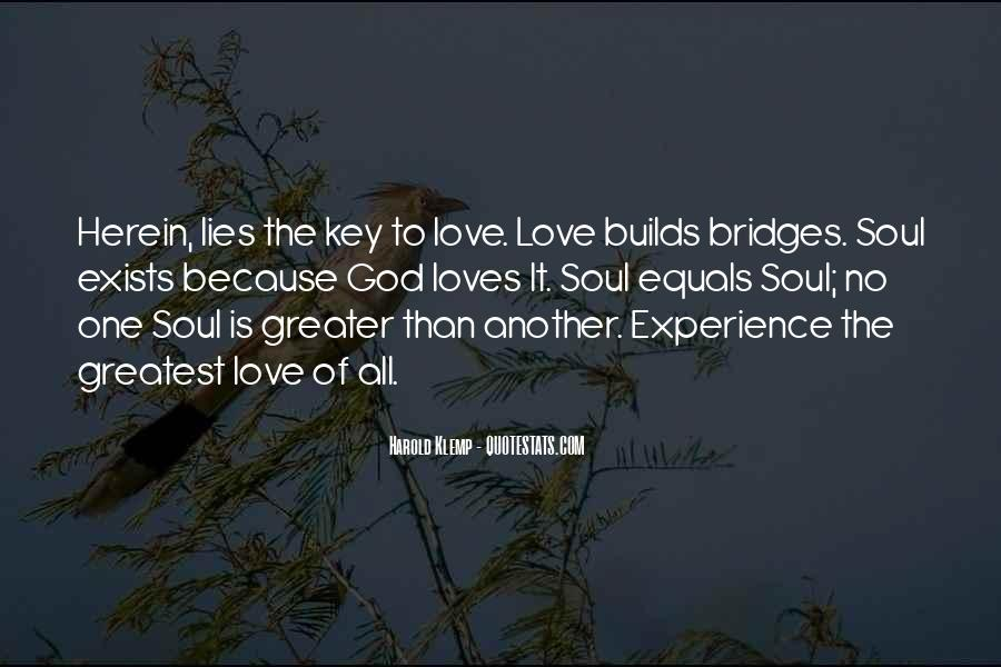 Love Is The Key Quotes #657824