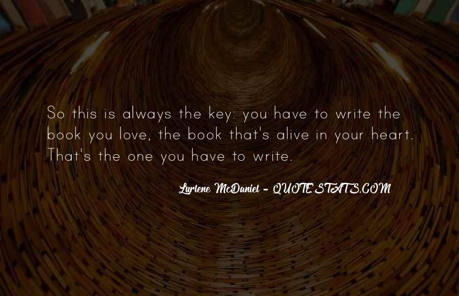 Love Is The Key Quotes #907750