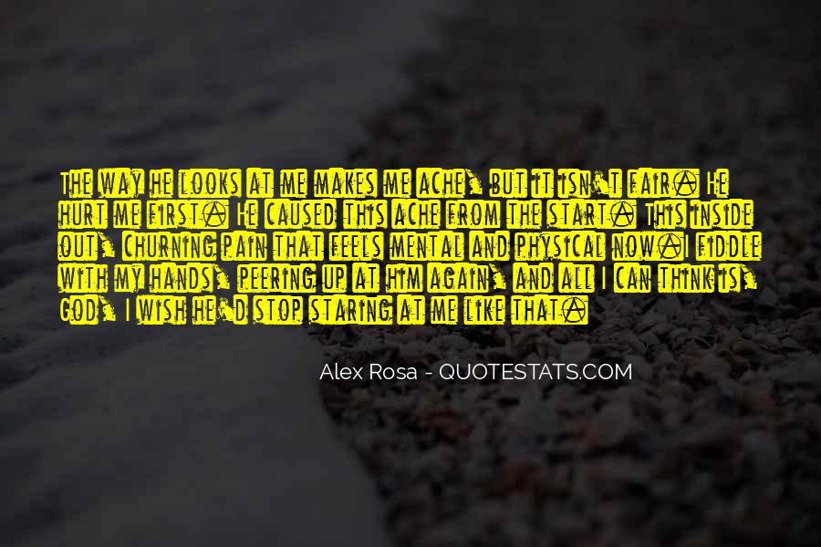 Love Isn't Fair Quotes #270574