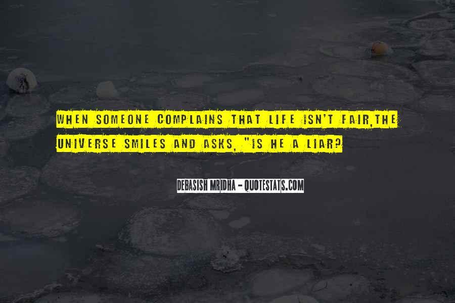 Love Isn't Fair Quotes #981984