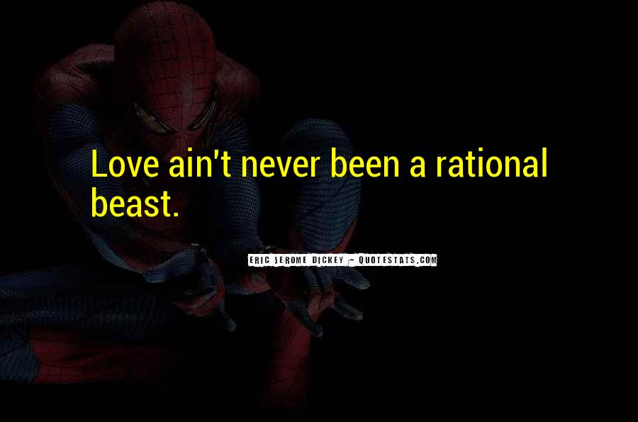 Love Isn't Rational Quotes #137593
