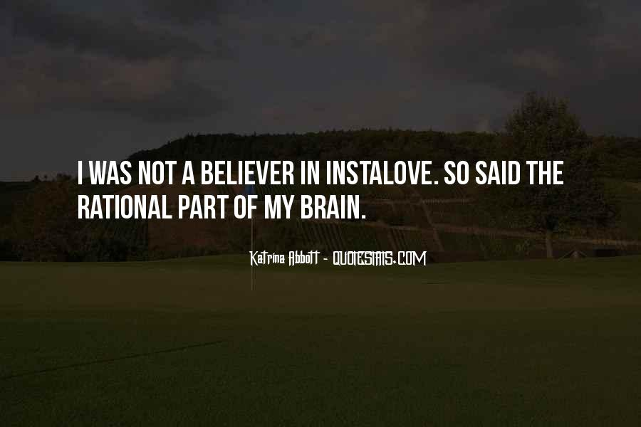 Love Isn't Rational Quotes #738570