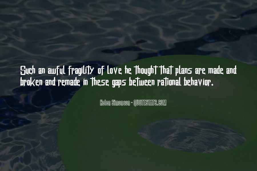 Love Isn't Rational Quotes #982082