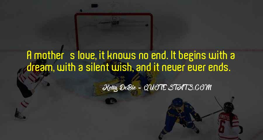 Love Knows No End Quotes #1237540