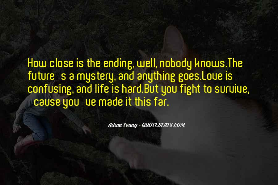 Love Knows No End Quotes #1615882