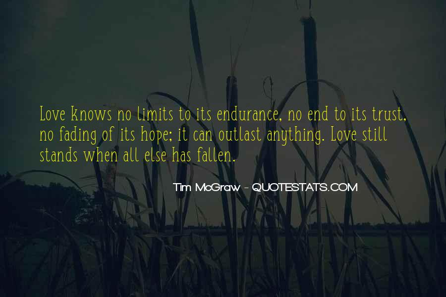 Love Knows No End Quotes #371914