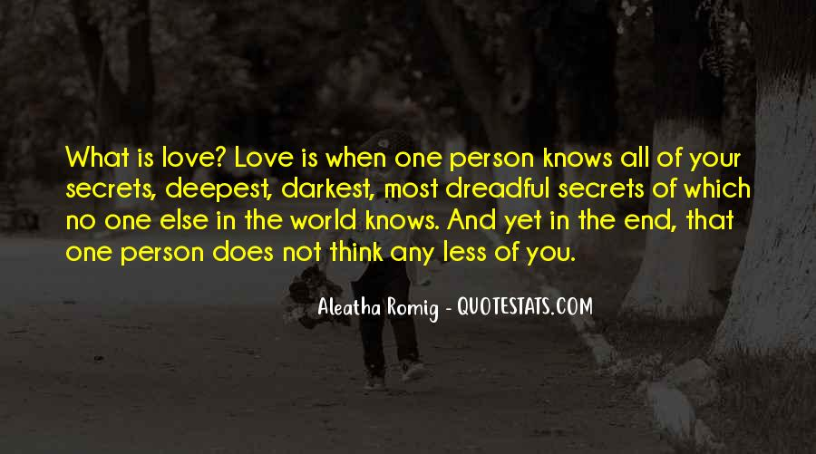 Love Knows No End Quotes #975510
