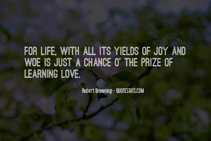 Love Life Learning Quotes #1210896