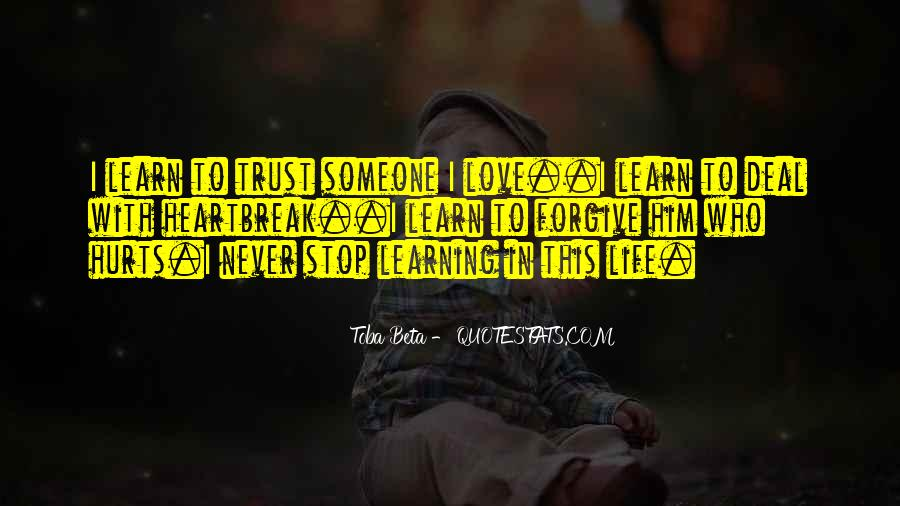 Love Life Learning Quotes #142441