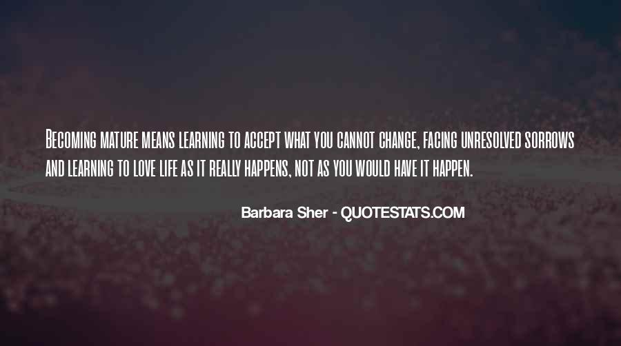 Love Life Learning Quotes #157786