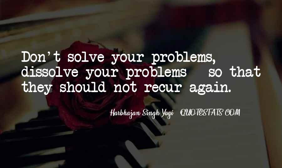 Love Life Problems Quotes #1091692