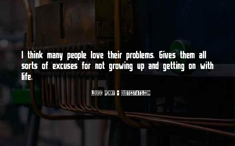 Love Life Problems Quotes #1408838