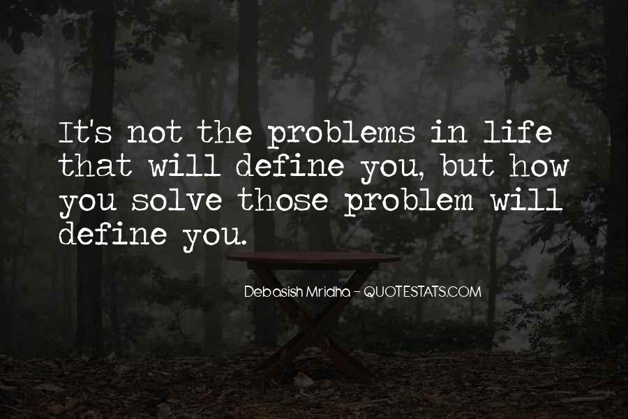 Love Life Problems Quotes #1552764