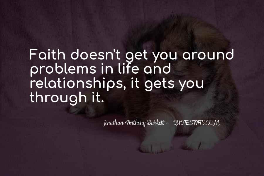 Love Life Problems Quotes #1578500