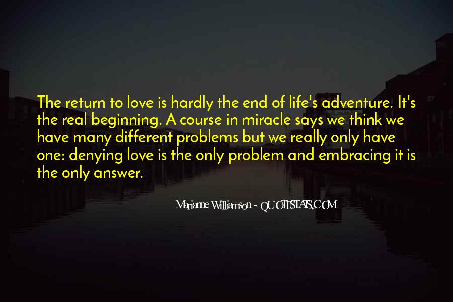 Love Life Problems Quotes #1705545