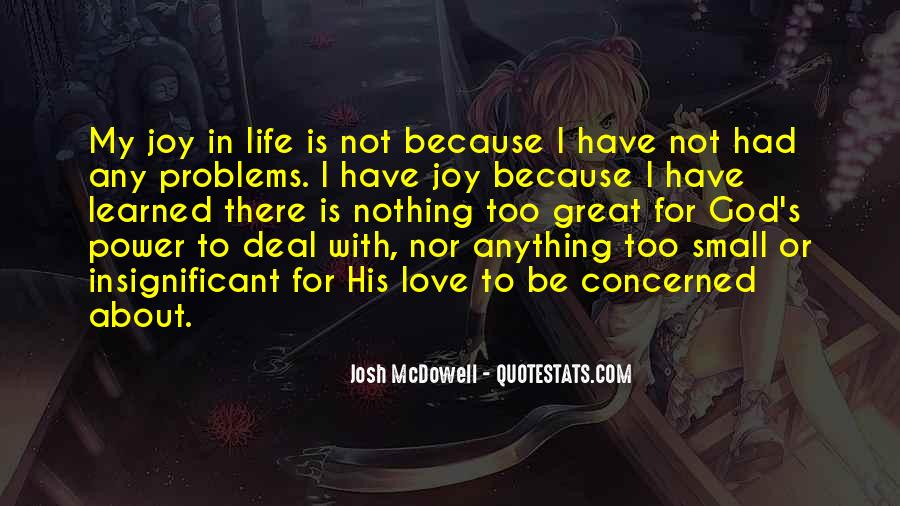 Love Life Problems Quotes #847071