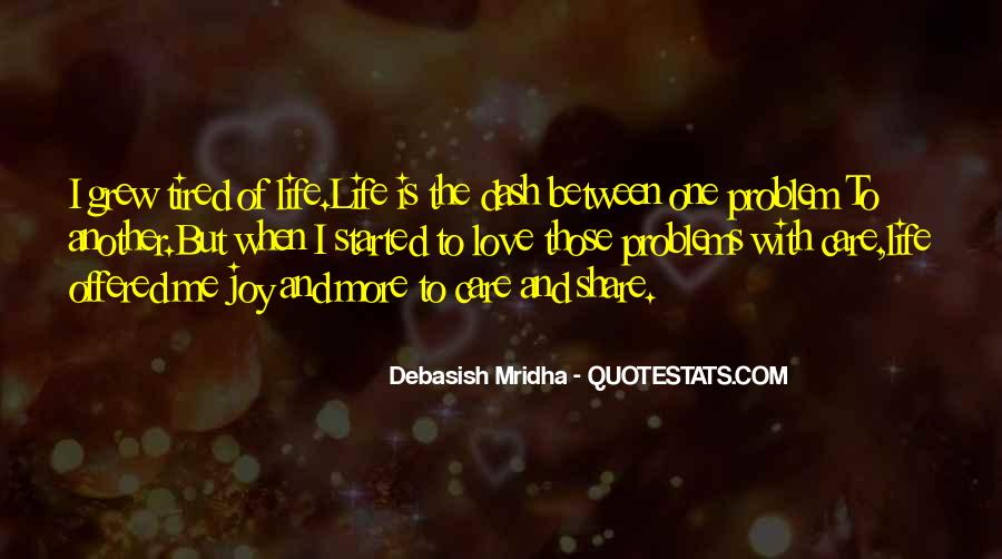 Love Life Problems Quotes #927323