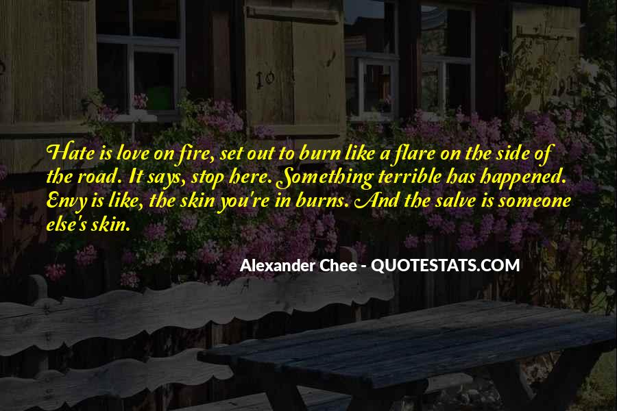 Love Like A Fire Quotes #1872786