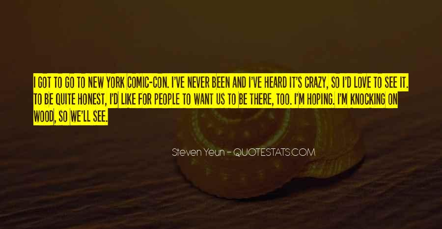 Love Like Crazy Quotes #1088418