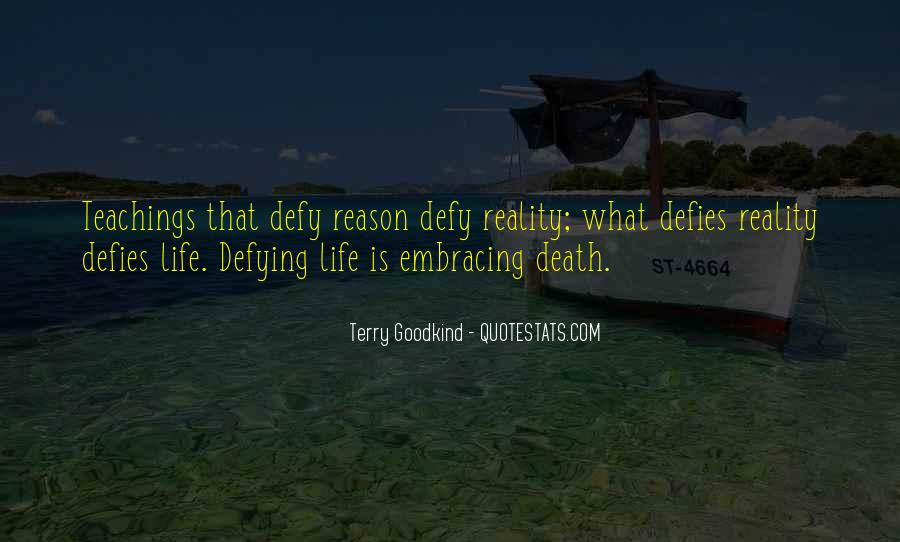 Quotes About Defying Death #667532