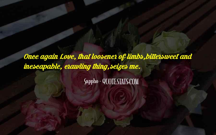 Love Me Once Quotes #300390