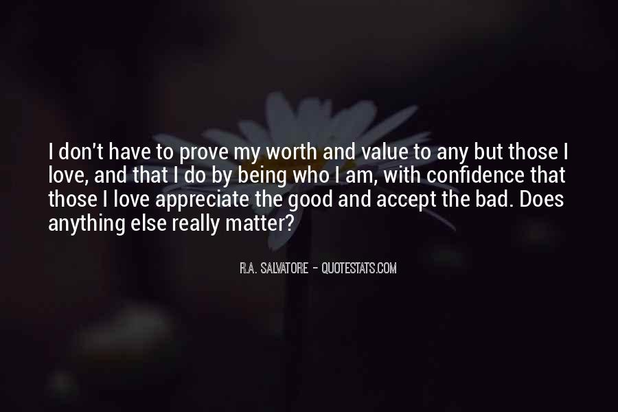 Love Me Prove It Quotes #109504