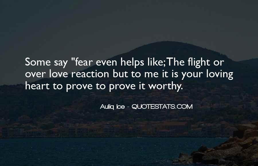 Love Me Prove It Quotes #1175678