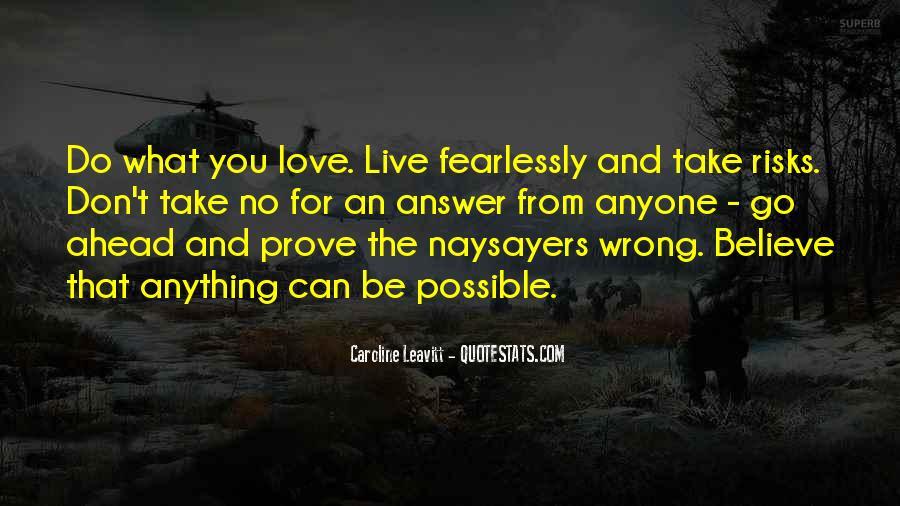 Love Me Prove It Quotes #153395