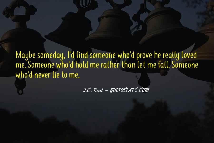 Love Me Prove It Quotes #154269