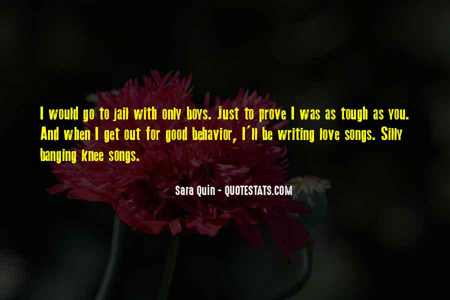 Love Me Prove It Quotes #289481