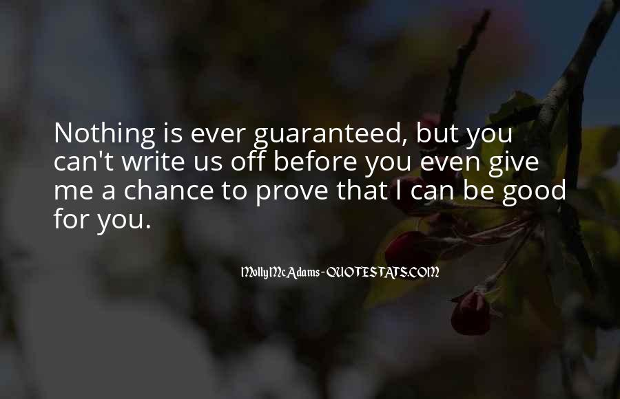 Love Me Prove It Quotes #52432