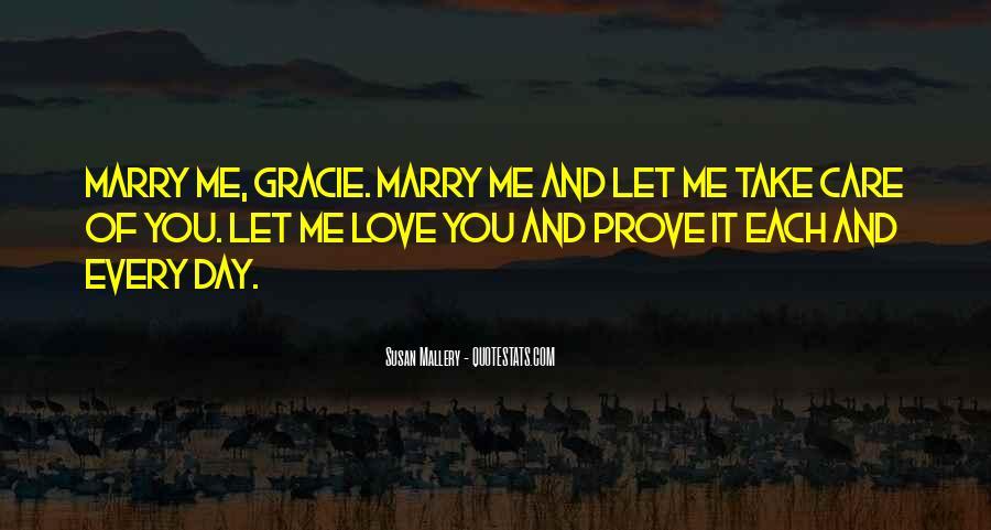 Love Me Prove It Quotes #557569