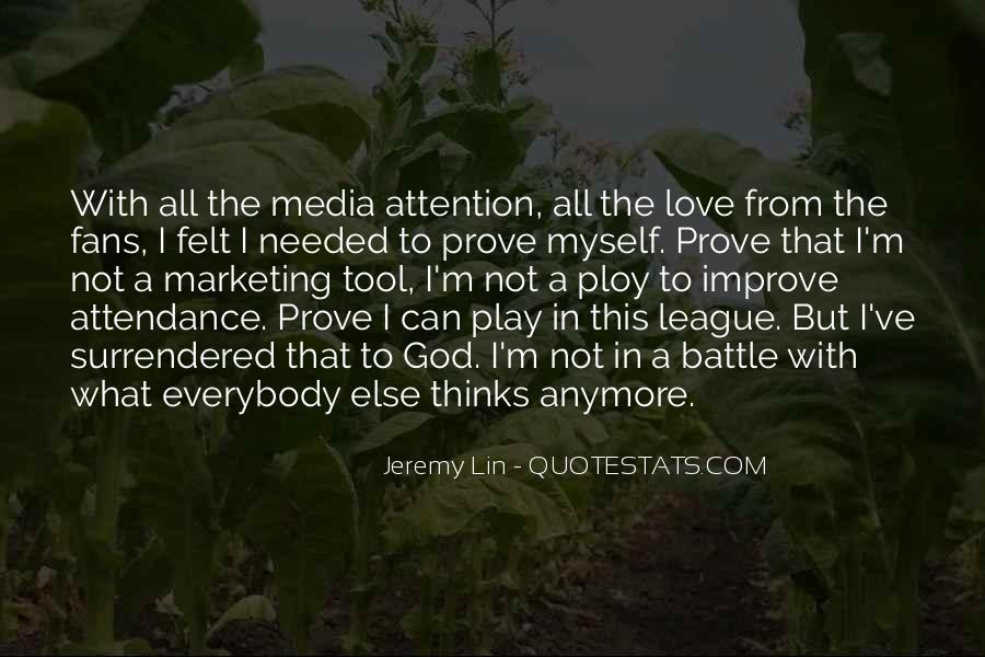 Love Me Prove It Quotes #61120