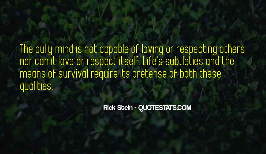 Love Means Respect Quotes #1357009