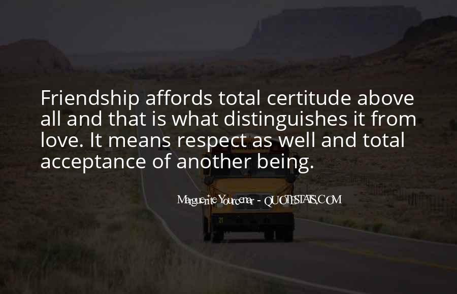 Love Means Respect Quotes #1693360