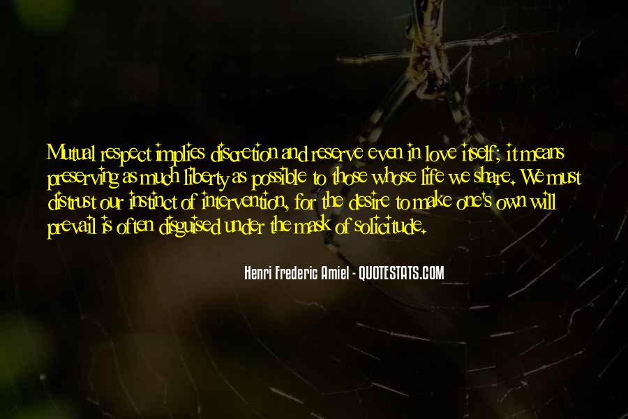 Love Means Respect Quotes #1849297