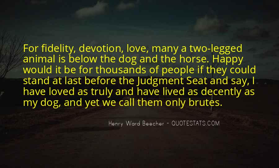 Love My Horse Quotes #1874112