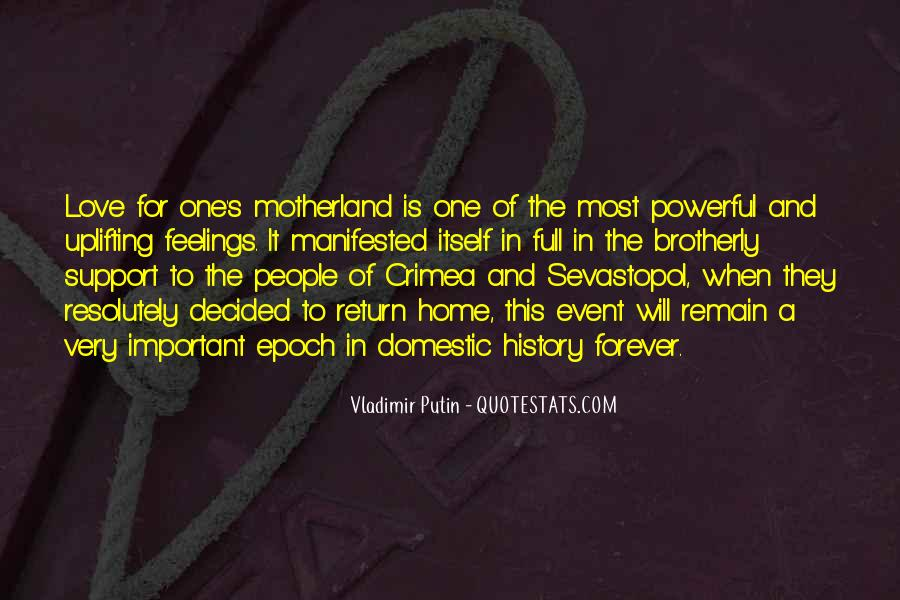 Love My Motherland Quotes #1691055