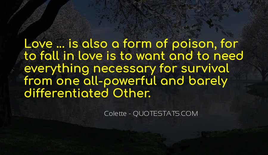 Love Necessary Quotes #2356