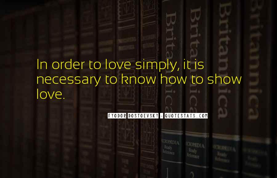 Love Necessary Quotes #85000