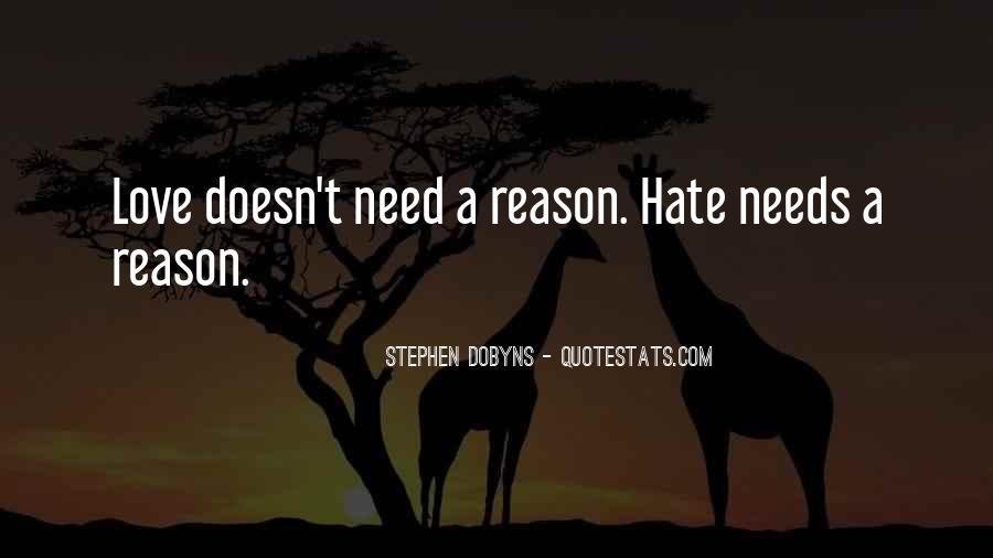 Love Need No Reason Quotes #35711